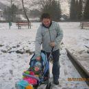 Prvi sprehod v novem letu 2008-zamrznjen ribnik!