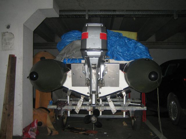 Zodiac futura mark II višina motorja in propeler