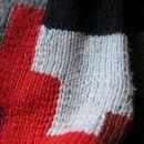 prepletanje barv na zimskem puloverju