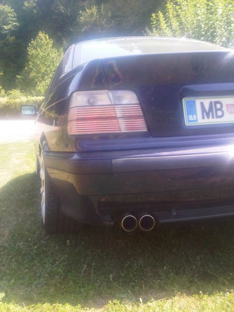 BMW e36 m-optik  ( M43B18 ) montreal blue  - foto