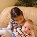 moja sestrica, ki me ima namesto baby chu-chuja
