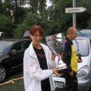 Nazdravje Romane s pokalom svetovnega prvaka Zamb v. Thermodos