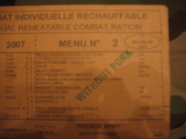 Francoski MRE - foto