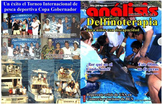 članek o tekmi v eni od najpopularnejših mehiških revij