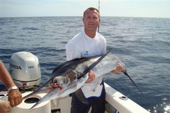 Striped marlin okoli 80kg