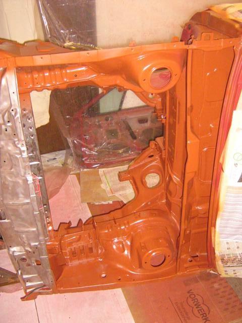 Barvanje motornega prostora - foto