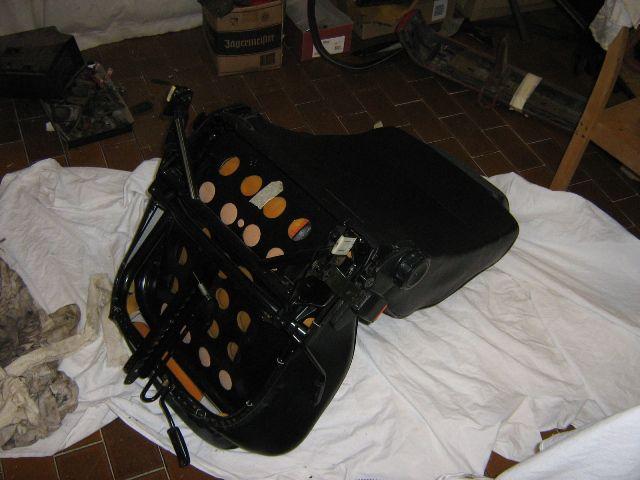 Vgradnja sedežev - foto