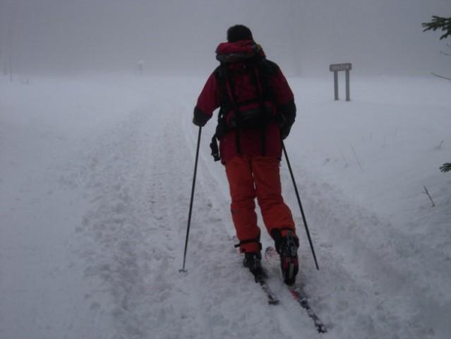 Na Oražmu se prične zima s 30cm snega.