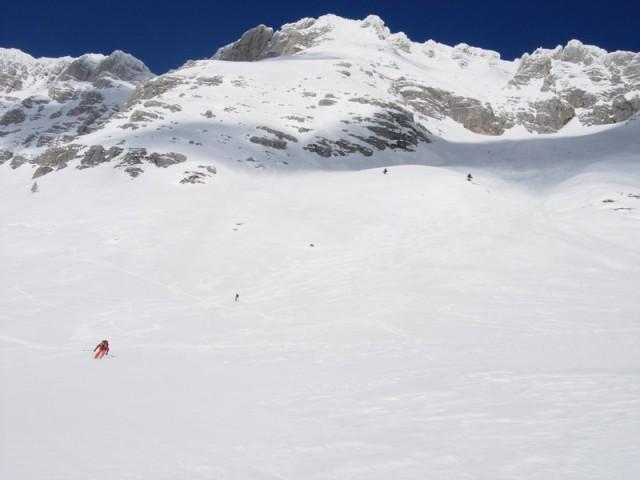 Širna snežna prostranstva so res raj za smuko.