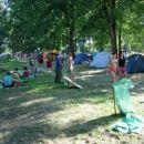šetanje po kampu..