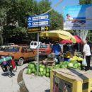 na koncu mesta je prvi smerokaz za Montenegro..(Shkodra-Alb)