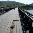 na tem mostu vas pozdravi mesto Skadar (Shkodra - Alb)