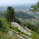elegantno speljana cesta proti Lovćenu (Čg)