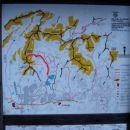 Pot nas je vodila od Belopeških jezer mimo planinske koče Zacchi na sedlo pod Veliko Ponc