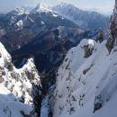 In sva obrnila.. V ozadju Košutica in Veliki vrh.