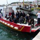 Potapljači iz SLO,HR in H so v pristanišču mesta Krka čistili morsko dno. To je bila 2. ek