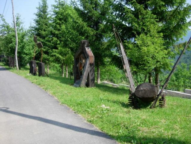 Likovna radionica - Plemenitaš - park skulptura.