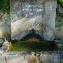 Izvir vode med Generalskim Stolom in Josipdolom.