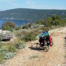 Panoramska (protipožarna) cesta med Valunom in Cresom.