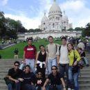 ...(zgoraj levo): Lalo, Ana, Saso, Davor, Paloma, (spodaj levo): Alejandro, Migue, Isidro,