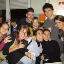 punce iz leve proti desni: Paola, Ana, spodaj Ana Kristel, zgoraj Monica, Margarita Najeli