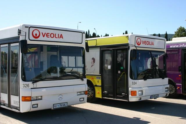 MB O405 GN (Avtomontaža) in MAN NG 312