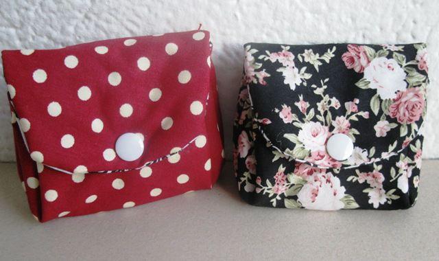 Majhni simpatični torbici, za kartice in podobne drobnarije