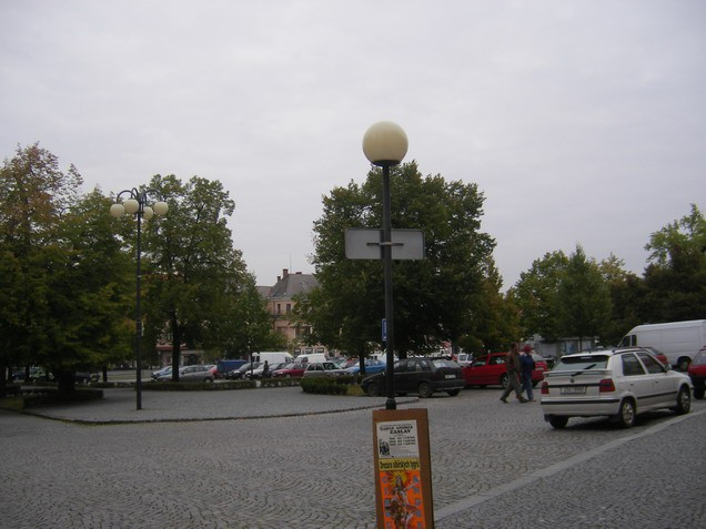 Glavni trg Časlava.