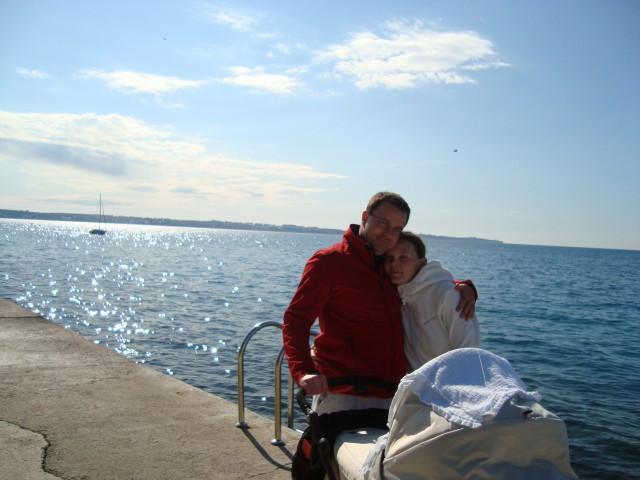 Prvič na morju