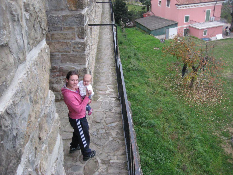 na obzidju pirana