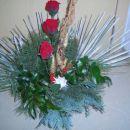 ikebana za na pokopališče