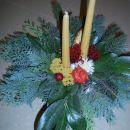 božična ikebana