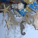 detail morskega tihožitja na steni