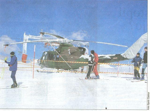 Helikopter na Zvohu