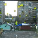 okno v otroški sobi