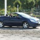 ...po žrebanju pa še en krog s Peugeotom...