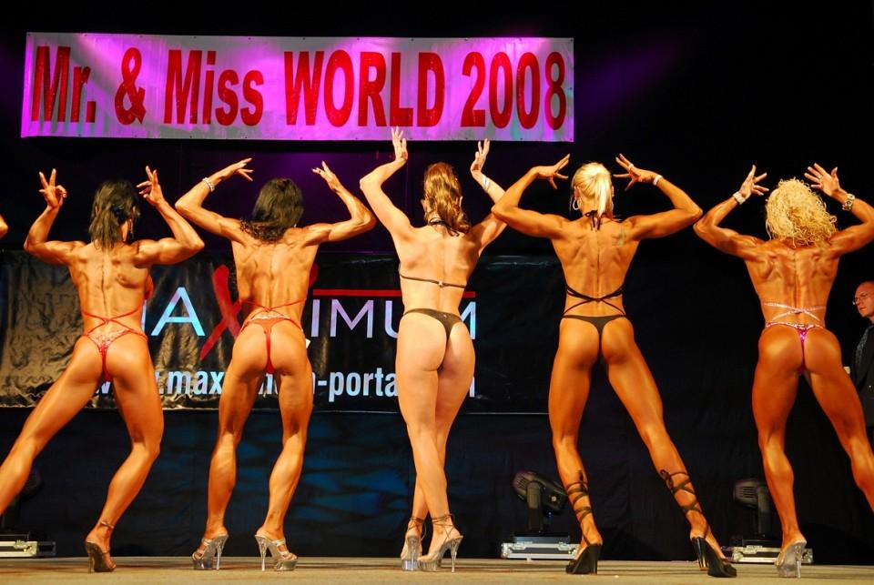 MISS FITNESS OF THE WORLD 2008 - foto povečava
