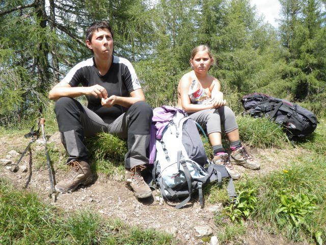 Raduha po zelo zahtevni poti - 31.7.2011 - foto