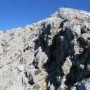 Vrh Križa, 2410 m