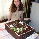 Moja birma in velika cokoladna torta