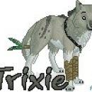 Trixie's fursona commission