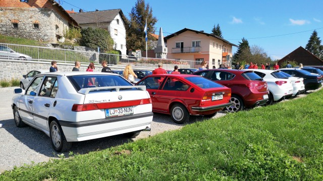 13. alfa rally - Notranjska (16. 09. 2018) - foto