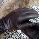 Usnjene fine damske rokavice, XS-S