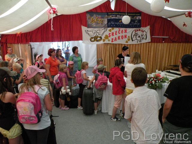 Tabor mladine - 27.6.2010 (prihod) - foto