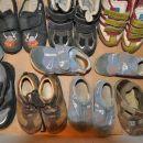 Čevlji in copati za fantka št. 24,25,26,27