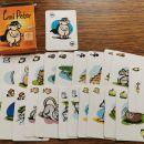 Igralne karte, črni peter in zelenjava 3e-kos