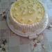 lubiju za rojstni dan naredila limonino tortico:)
