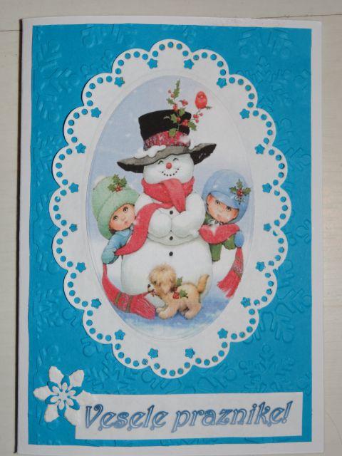 Božično-novoletne voščilnice - foto