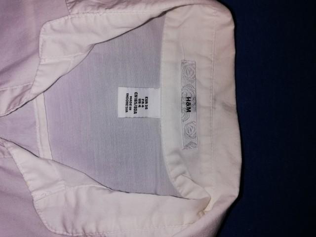 Bela srajcka h&m - foto
