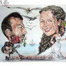 Karikatura-zabavno darilo ob poroki